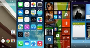 Android L vs iOS 8 vs Windows Phone 8.1 vs Blackberry 10