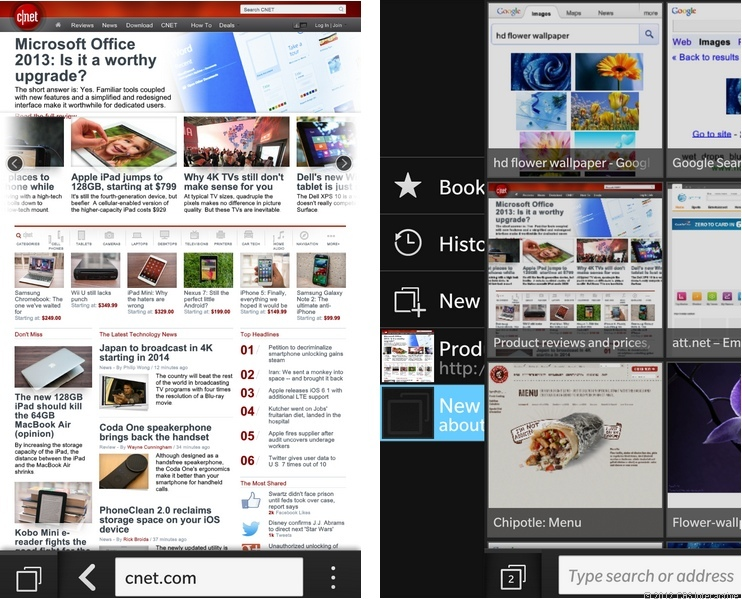 BB10 Browser