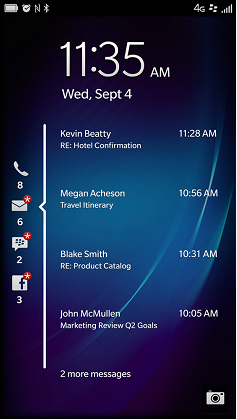BB10 lockscreen