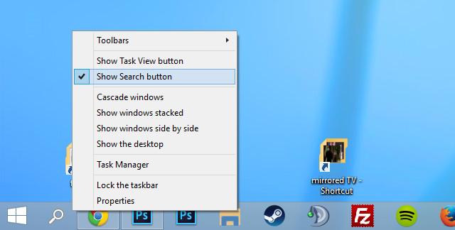 عملکرد جستجو در ویندوز 10