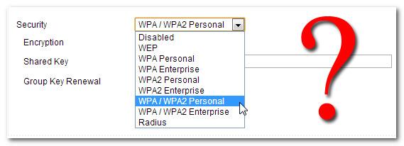 تفاوت رمزنگاری های WPA ،WEP و WPA2