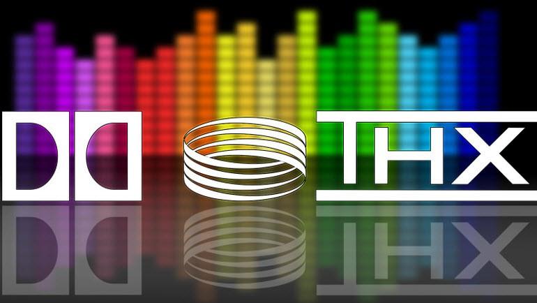 صدای فراگیر دالبی دیجیتال، DTX و THX