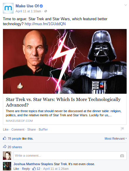 Facebook-Star-Trek