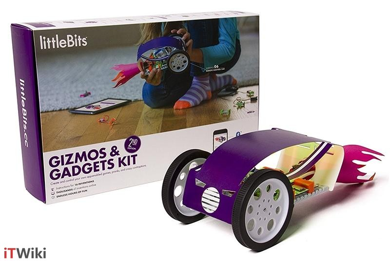 ربات LittleBits Gizmos and Gadgets