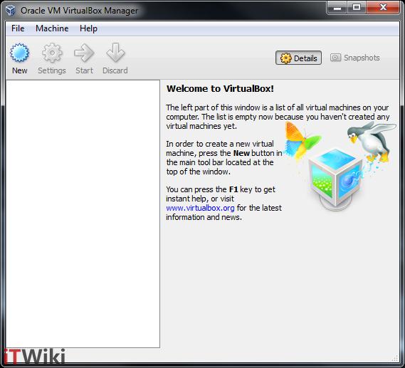 ماشین مجازی VirtualBox